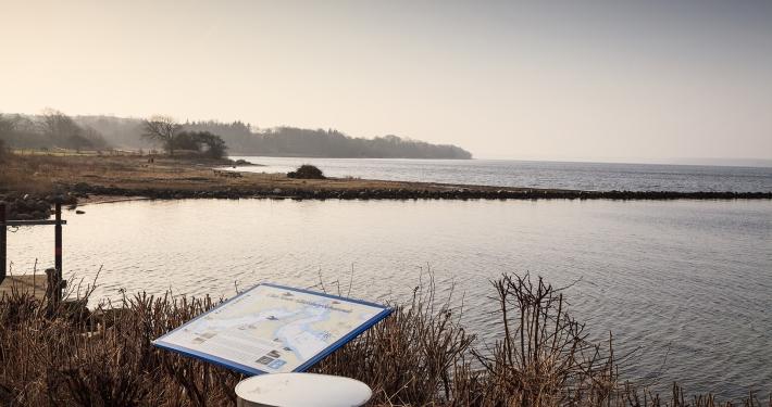 Ein Blick auf das Meer von einem der Aussichtspunkte rund um die Ferienwohnung Fiedler.